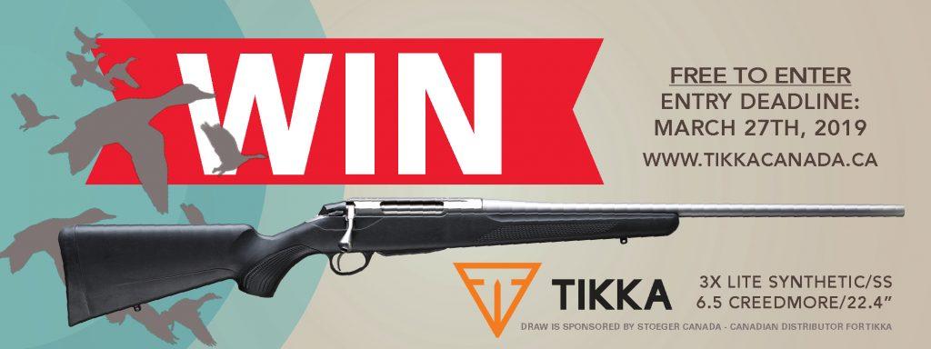 Firearm Draw 2019 Tikka