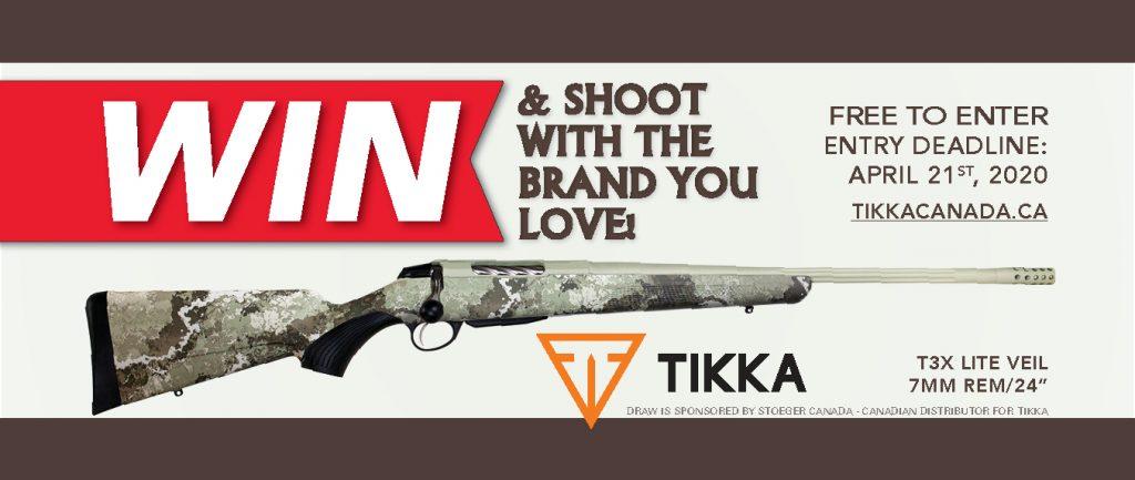 Banner Firearm Draw 2020 Tikka