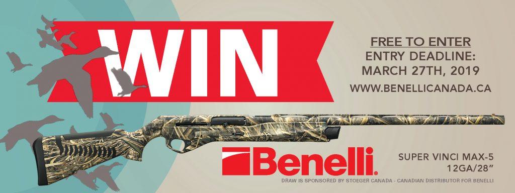 Firearm Draw 2019 Benelli