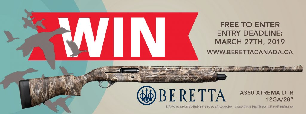 Canadian Firearm Draw 2019 Beretta