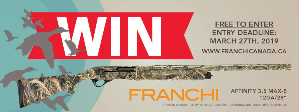 Canadian Firearm Draw 2019 Franchi