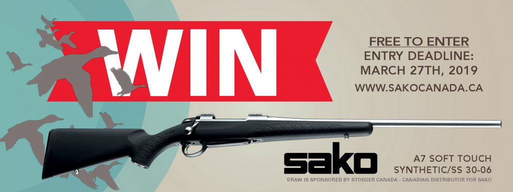 Canadian Firearm Draw 2019 Sako