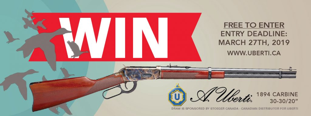 Canadian Firearm Draw 2019 Uberti