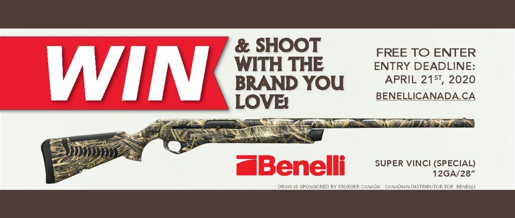 Banner Firearm Draw 2020 - Benelli