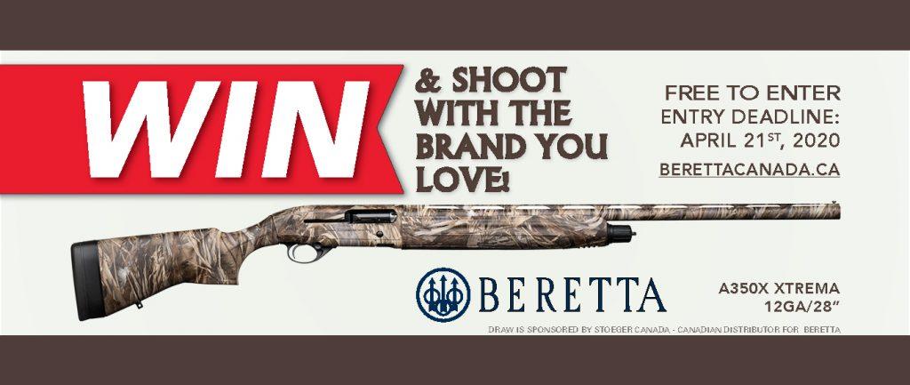 Banner Firearm Draw 2020 Beretta