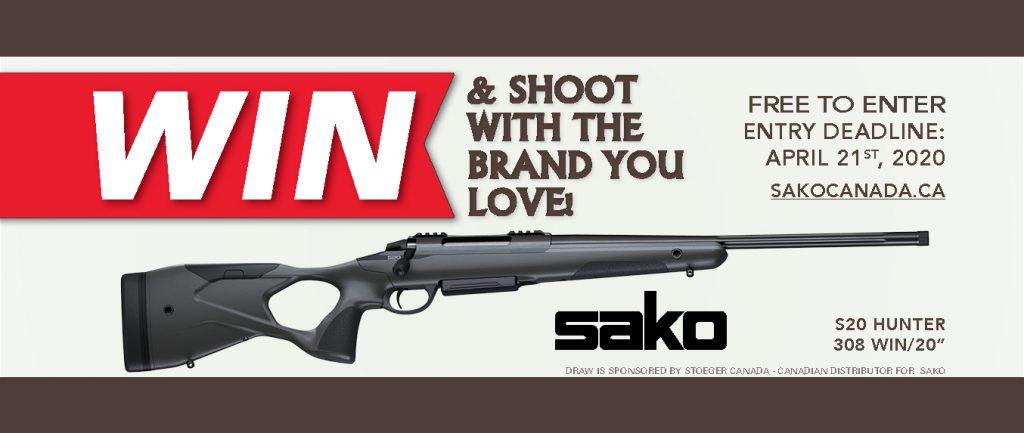 Banner Firearm Draw 2020 Sako