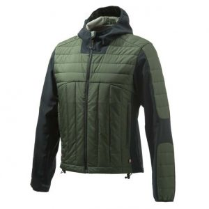 Beretta BIS Static Soft Shell Jacket - Green Front