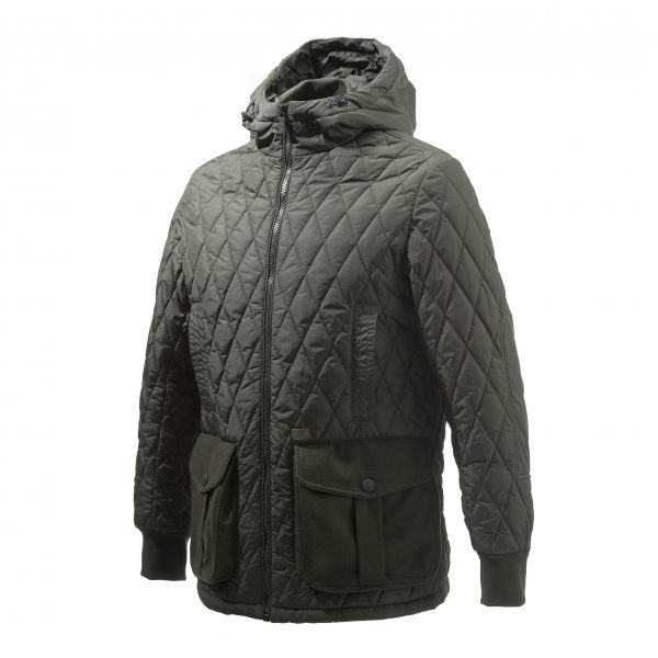 Beretta Frisia Man's Quilted Coat Green