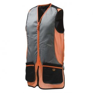 Beretta Silver Pigeon Vest - Orange and Black