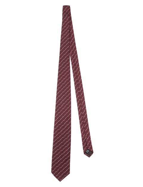 CR131T13810392 Jacquard Tie Bordeaux (2)