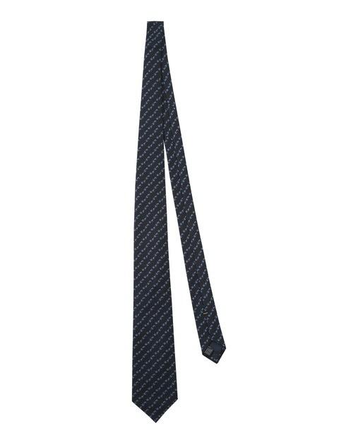 CR131T13810590 Jacquard Tie Beretta Dark Blue