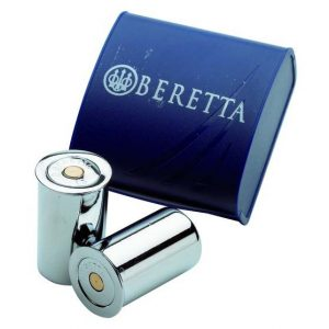 Beretta Deluxe Nickel Plated Snap Caps