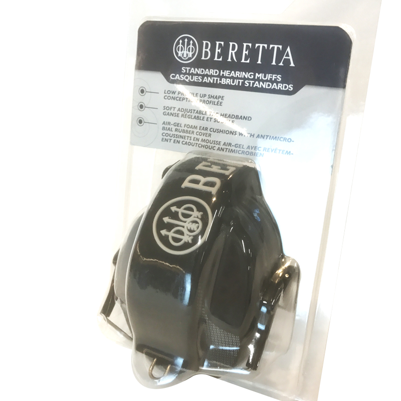 CF100000020999 Earmuffs Black Beretta Package