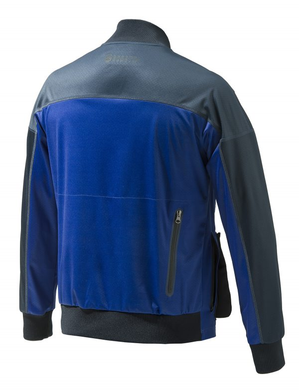 GT561T13190504 Beretta Soft Shell Shooting Bomber Blue Back