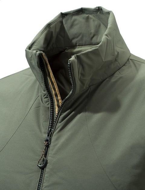 GU133T14050715 Beretta Fusion BIS Jacket Green Collar