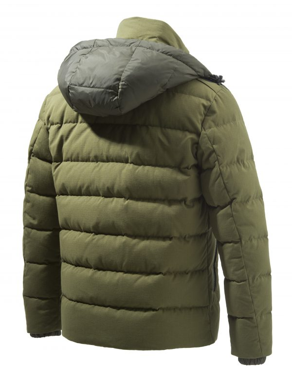 GU213T14170898 Beretta Terragon Down Cotton Jacket Olive Drab Back
