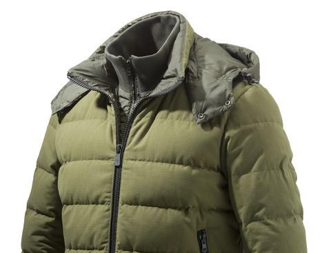 GU213T14170898 Beretta Terragon Down Cotton Jacket Olive Drab Collar