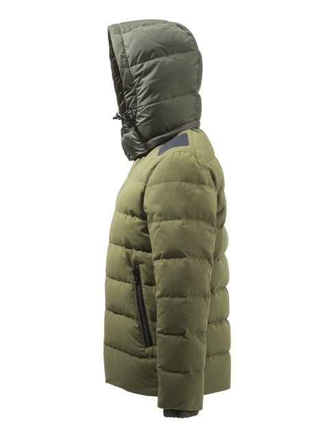 GU213T14170898 Beretta Terragon Down Cotton Jacket Olive Drab Side