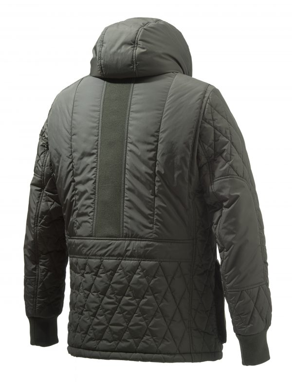 GU253T1393070Q Beretta Frisia Man's Quilted Coat Green Back