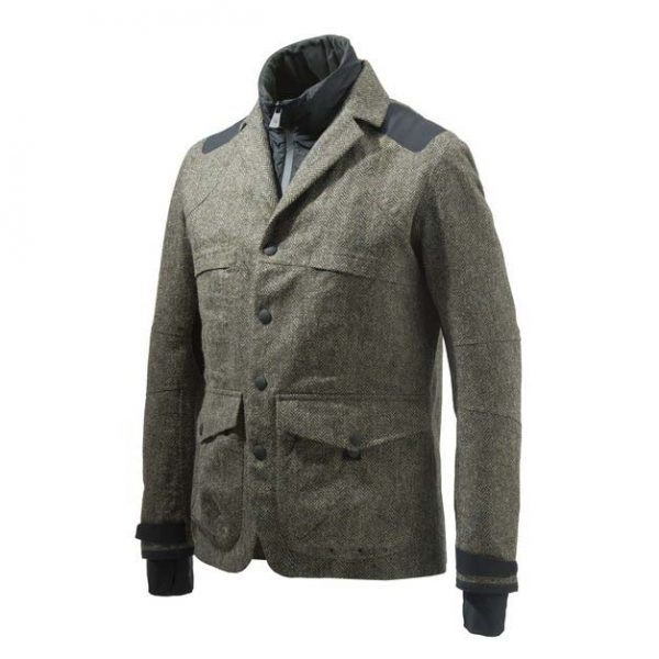 GU273T1409077U Beretta Tech Wool Jacket Green Front