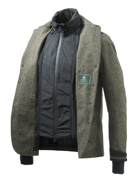 GU273T1409077U Beretta Tech Wool Jacket Green Layers