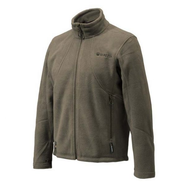 Beretta Active Track Fleece Jacket - Brown