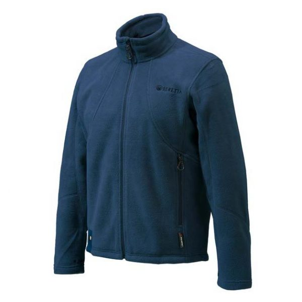 Beretta Active Track Fleece Jacket - Navy Blue