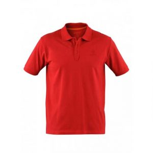 Beretta Men's Corporate Polo Short Sleeve Shirt Red Front