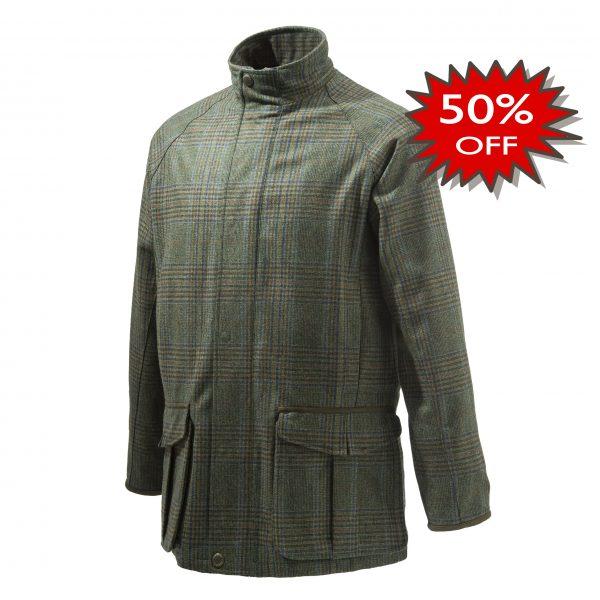 Beretta St James Coat Green Front Promotion
