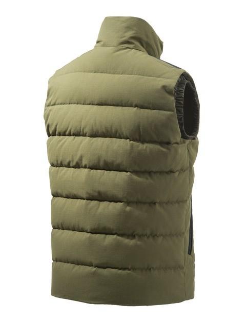 GU313T14170898 Beretta Terragon Cotton Down Vest Olive Back