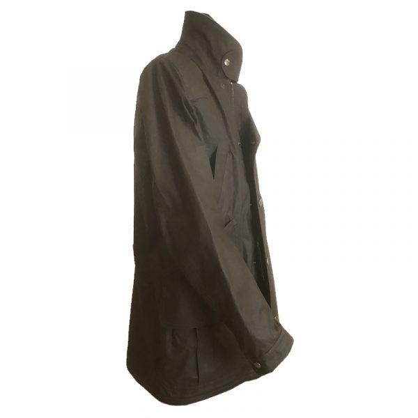 GU323T1407081550 Beretta Waxed Field Jacket Brown Side
