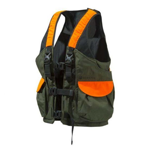 Beretta Game Bag Vest Orange And Green