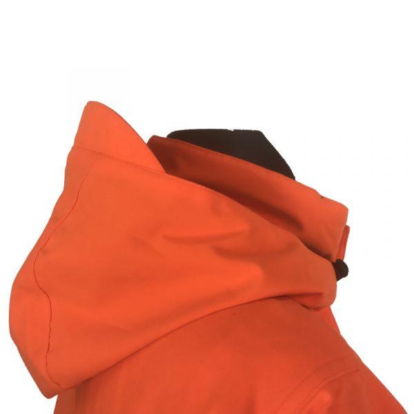 GU451022950402 Beretta Man's Insulated Static Jacket Blaze Orange Hood