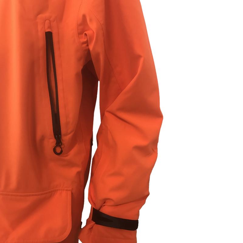 GU451022950402 Beretta Man's Insulated Static Jacket Blaze Orange Pocket