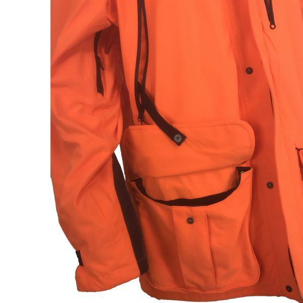 GU451022950402 Beretta Man's Insulated Static Jacket Blaze Orange Sleeve