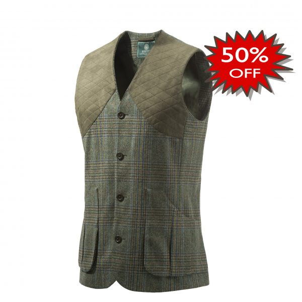 GU732T07640796 Beretta St James Vest Green Front