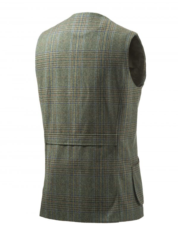 GU752T07640796 Beretta St James Vest Green Back