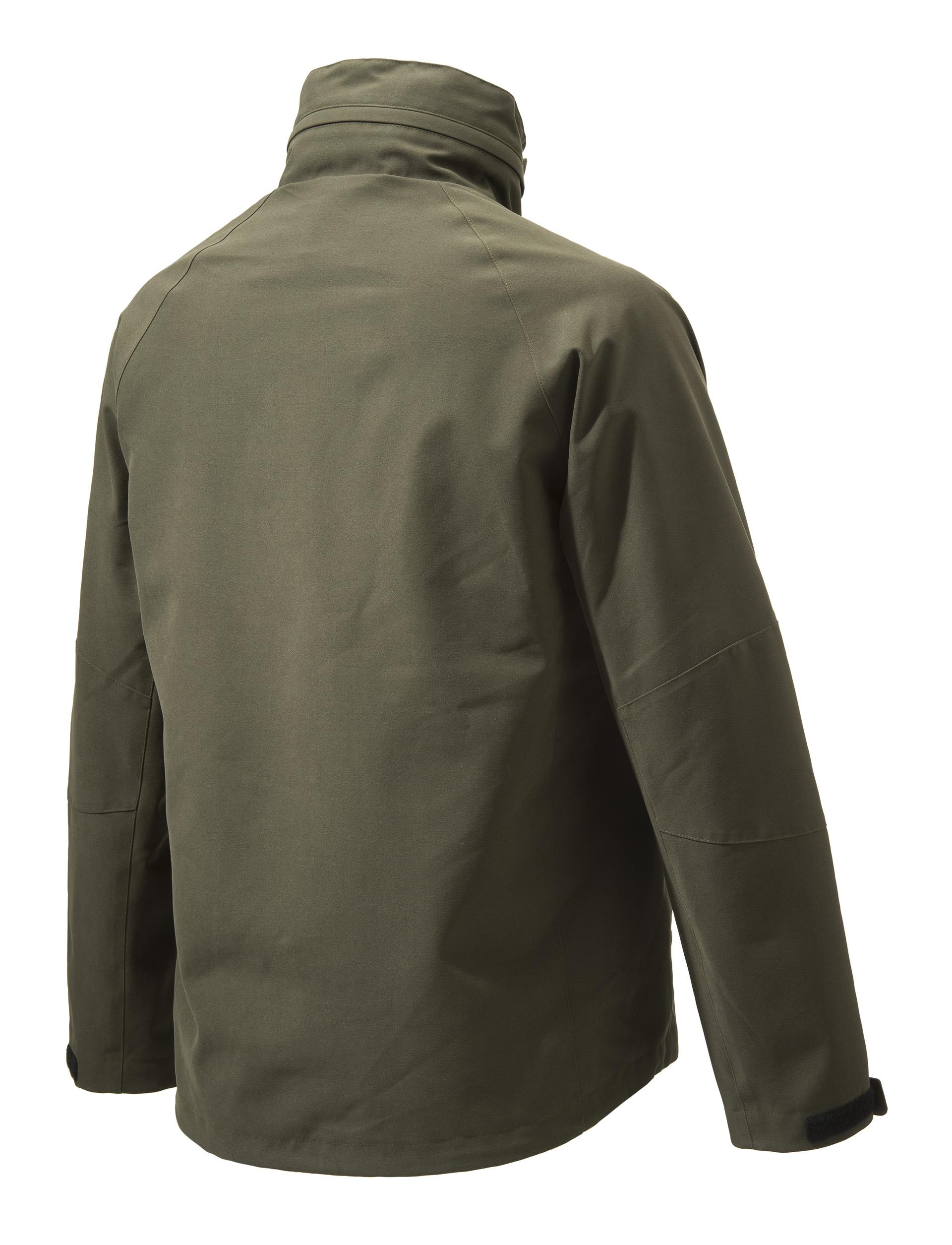 GU972022950715 Beretta Lite Shell Jacket Green Back