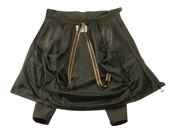 GU972022950715 Beretta Lite Shell Jacket Green Open
