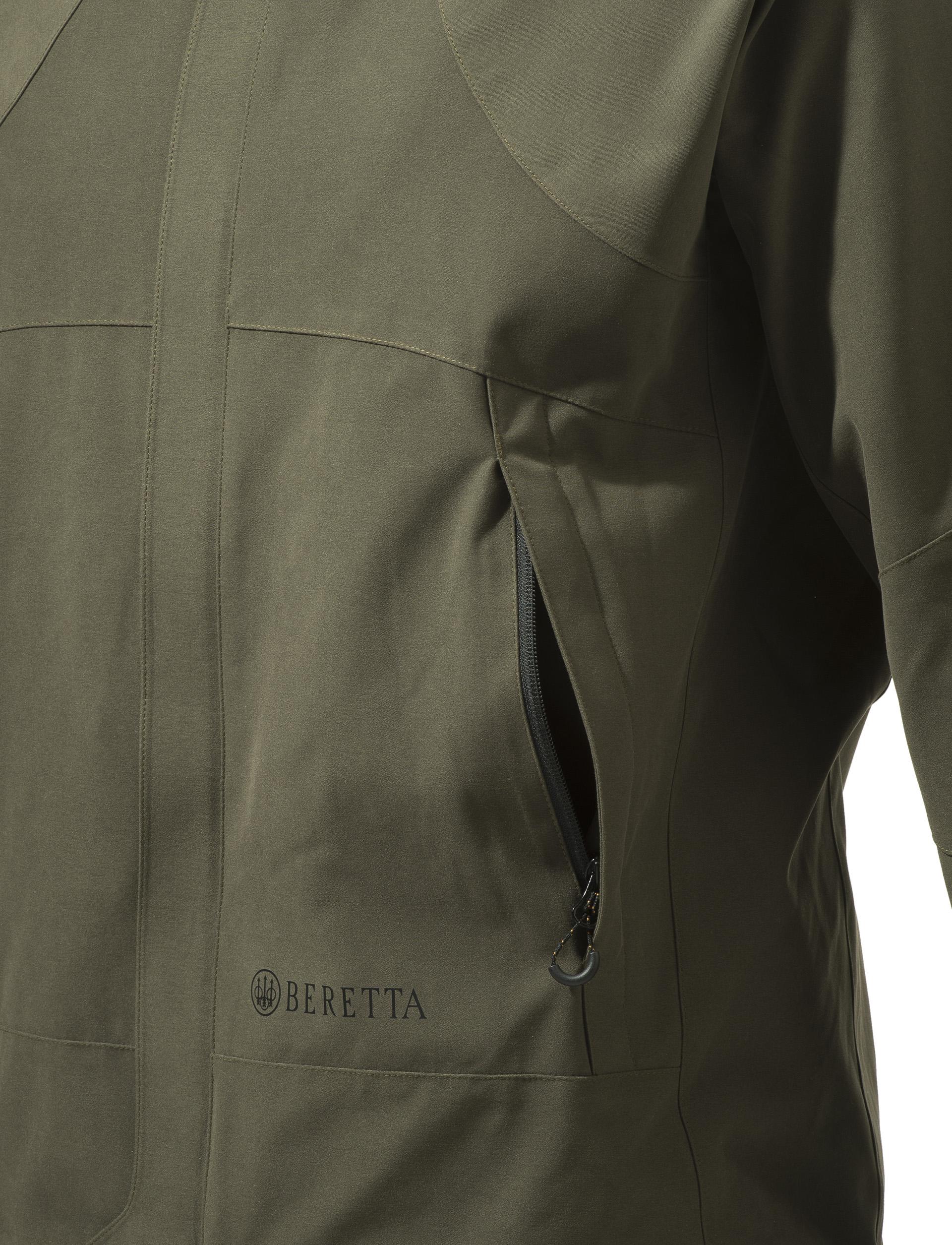 GU972022950715 Beretta Lite Shell Jacket Green Pocket