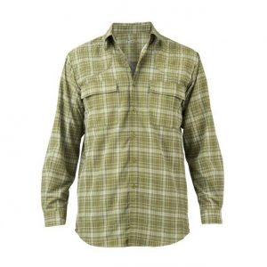 Beretta Quick Dry Long Sleeve Shirt Avocado Front