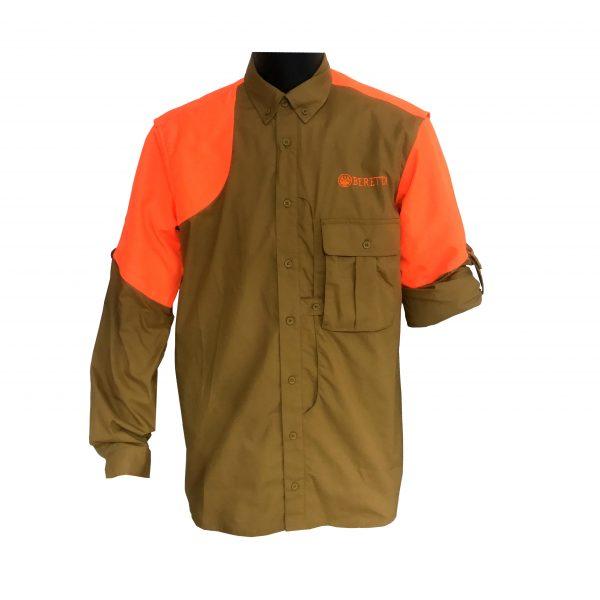 LU611T1184081GM Beretta Upland Shirt Front
