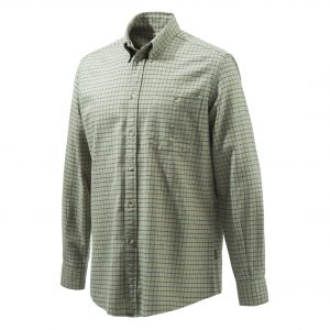 Beretta Sport Classic Botton Down Shirt Green Checkered