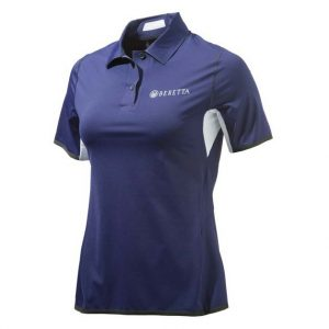 Beretta Women's Tech Shooting Polo Navy