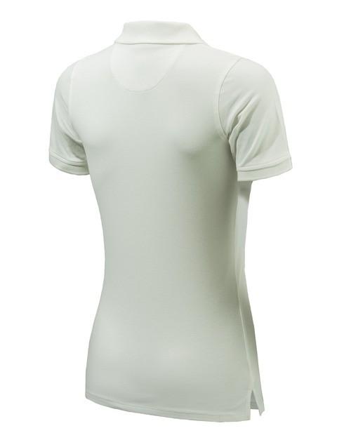 MD02207207011G Beretta Women's Corporate Polo White Back