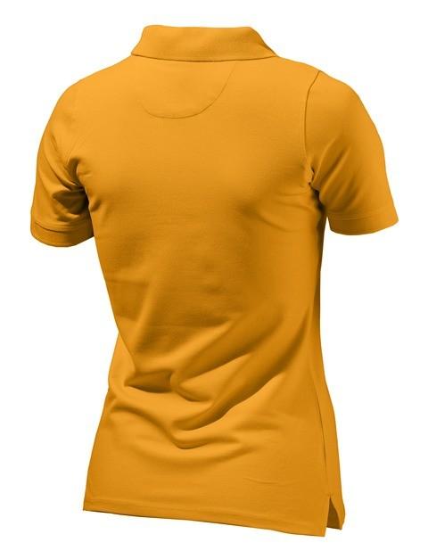 MD022072070433 Beretta Women's Corporate Polo Orange Back