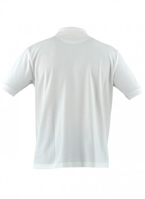 MP020072070100 Beretta Men's Corporate Polo Short Sleeve Shirt White Back