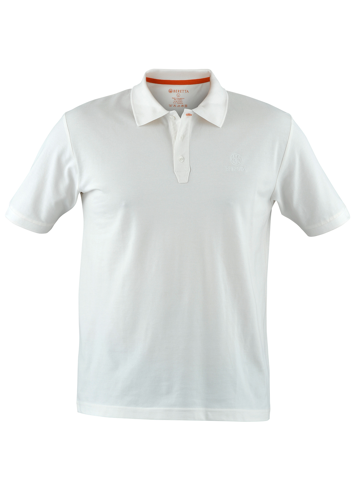 Beretta Men S Corporate Polo White Stoeger Canada