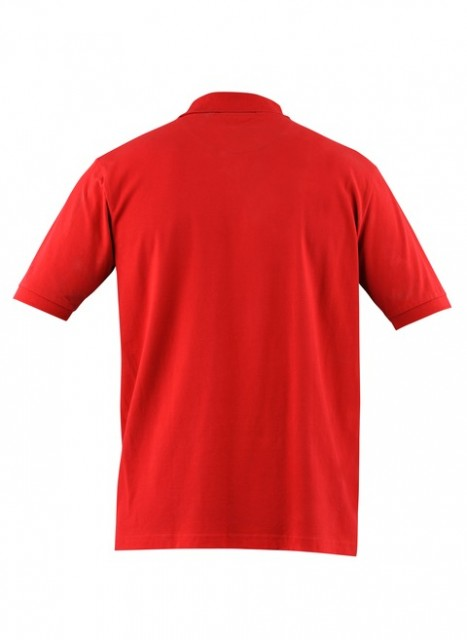 MP020072070321 Beretta Men's Corporate Polo Short Sleeve Shirt Red Back