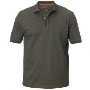 Beretta Men's Corporate Polo Short Sleeve Shirt Green Front